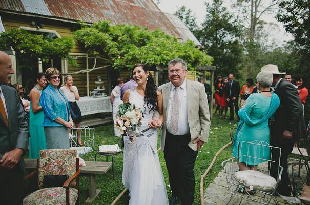 Superbe Backyard Wedding Handmade Vintage Floral Silver Blush ...