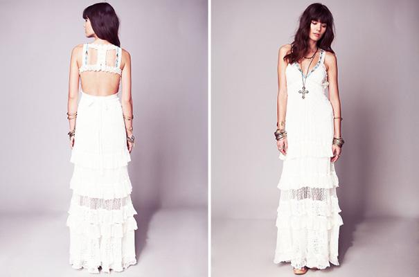Bohemian wedding dress budget bridesmaid dresses for Wedding dresses for tomboy brides