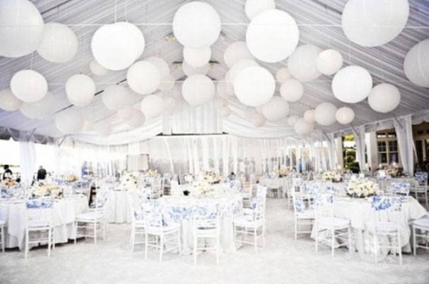 Hello may there s an idea all white for All white party decoration ideas