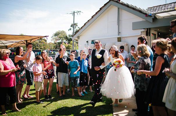 BACKYARD-WEDDING-melbourne-bunting-bright-surprise-short-dress-retro-DIY19