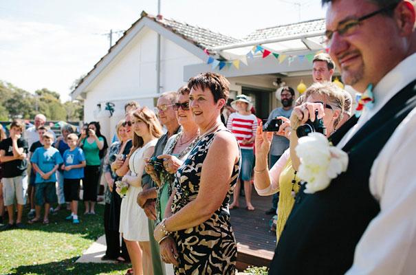 BACKYARD-WEDDING-melbourne-bunting-bright-surprise-short-dress-retro-DIY22