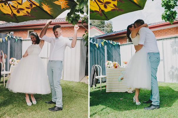 BACKYARD-WEDDING-melbourne-bunting-bright-surprise-short-dress-retro-DIY24
