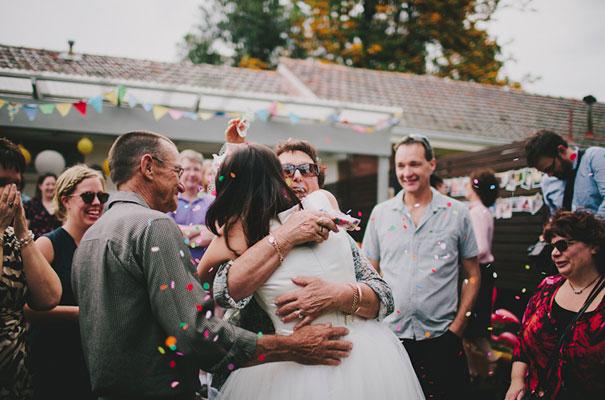 BACKYARD-WEDDING-melbourne-bunting-bright-surprise-short-dress-retro-DIY25