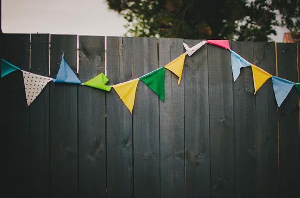 BACKYARD-WEDDING-melbourne-bunting-bright-surprise-short-dress-retro-DIY34