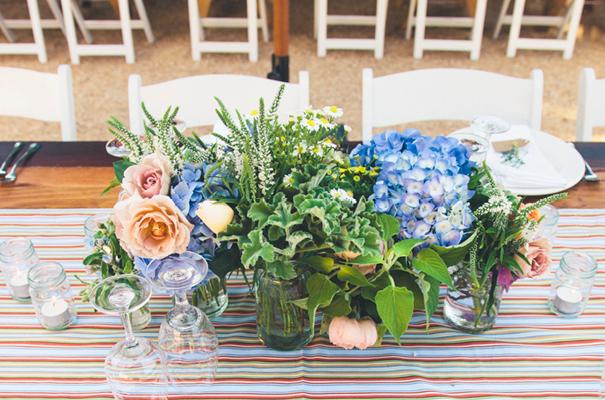 DIY-country-rustic-backyard-weding-inspiration-short-lace-dress-blue-green-yellow44