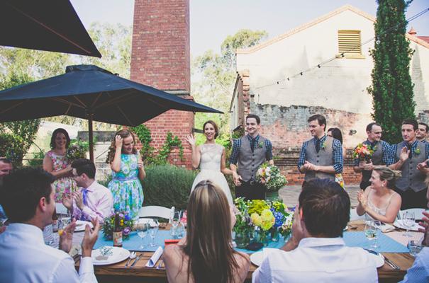 DIY-country-rustic-backyard-weding-inspiration-short-lace-dress-blue-green-yellow46