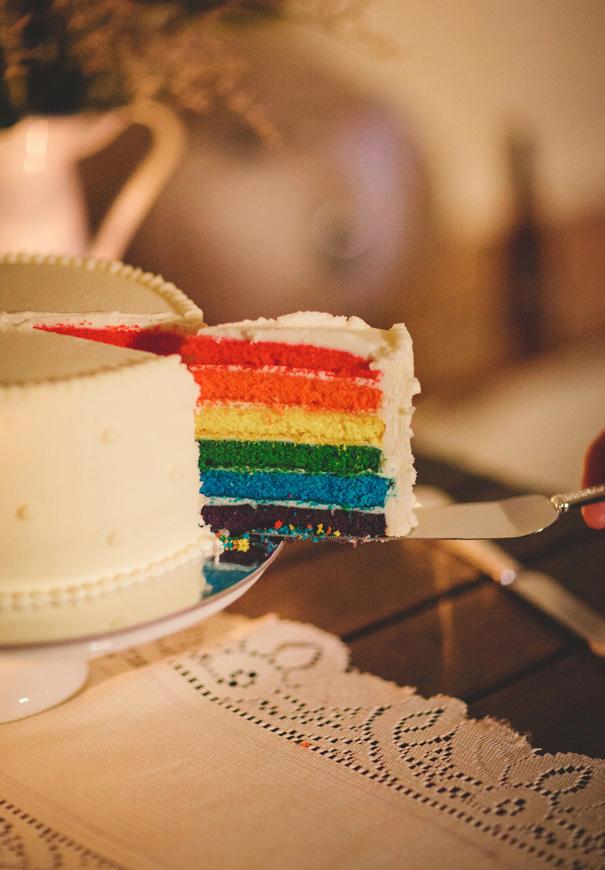NNNEW-rainbow-cake-DIY-vintage-bride-lace-custom-made-bridal-gown-retro-car-reception-brisbane-queensland122