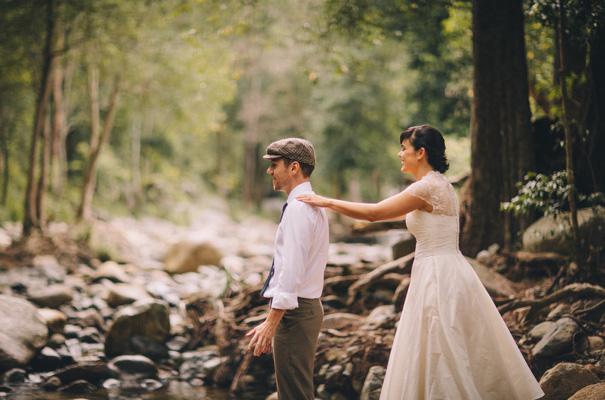 best-wedding-ever-rainbow-cake-DIY-vintage-bride-lace-custom-made-bridal-gown-retro-car-reception-brisbane-queensland10