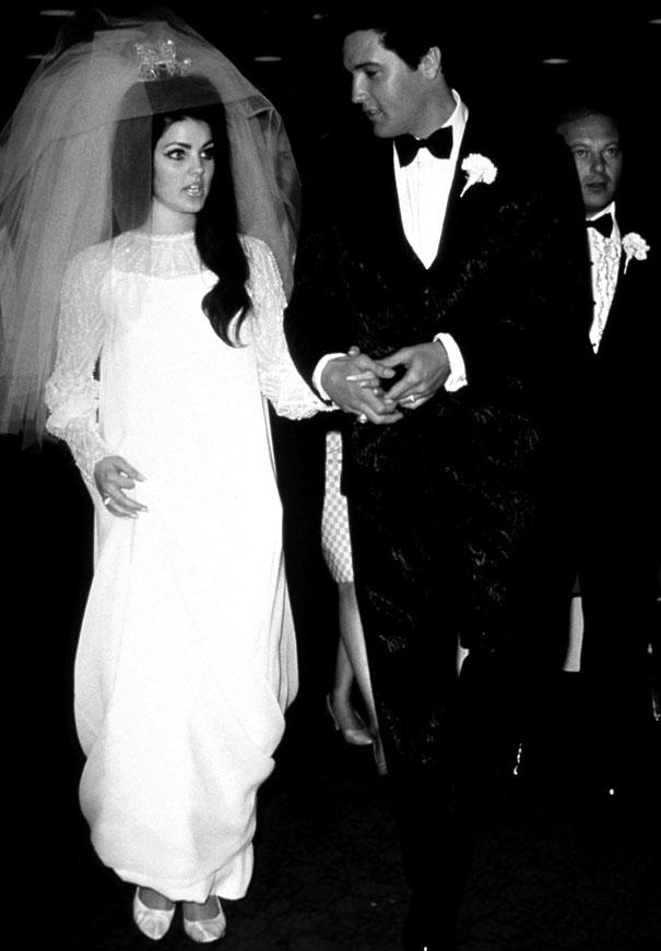 elvis-pricilla-presley-wedding-day-retro-bride-vintage-dress