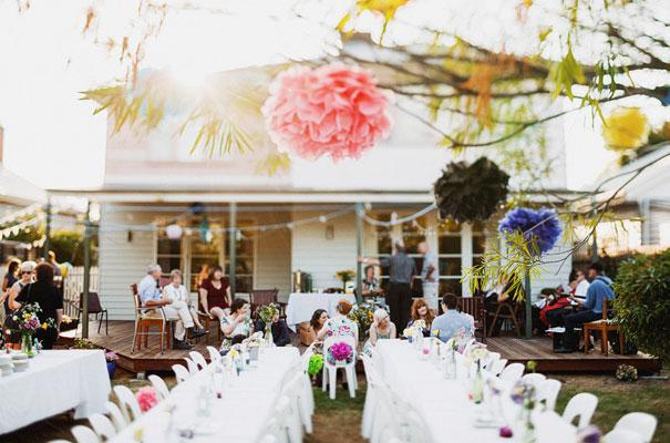 ... Backyard Wedding DIY Melbourne Wedding Photographer Blue Wedding  ...