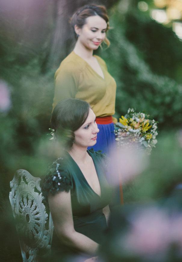 black-wedding-dress-sequins-backyard-outdoor-elegant-garden-bride-inspiration