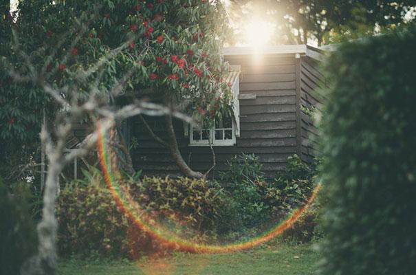 black-wedding-dress-sequins-backyard-outdoor-elegant-garden-inspiration2