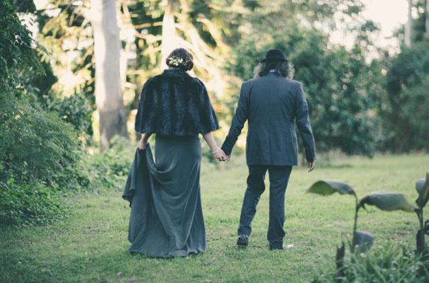 black-wedding-dress-sequins-backyard-outdoor-elegant-garden-inspiration34