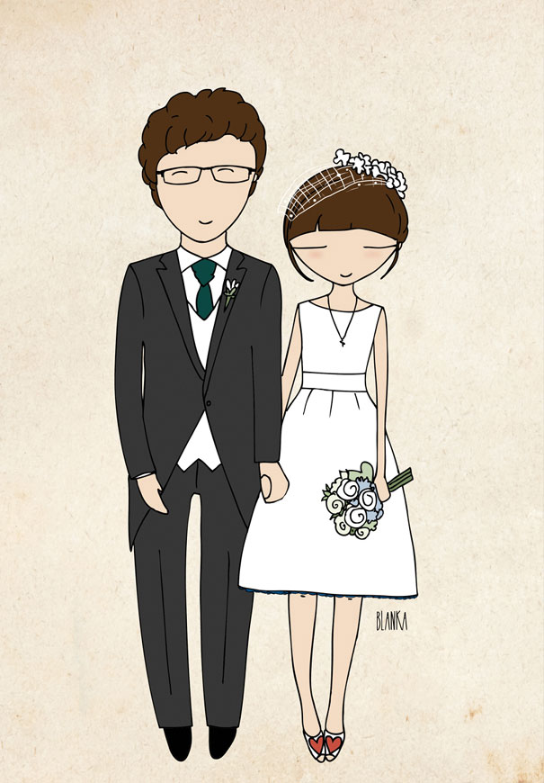 blanka-biernet-custom-couple-illustration-etsy-bride-groom-wedding