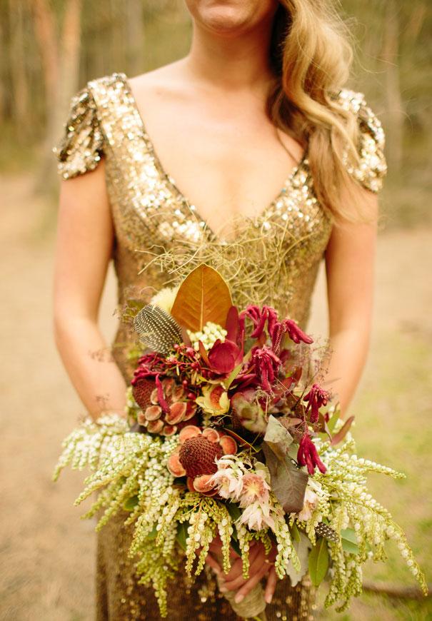 pwedding-bush-bride-gold-bridal-gown-dress3