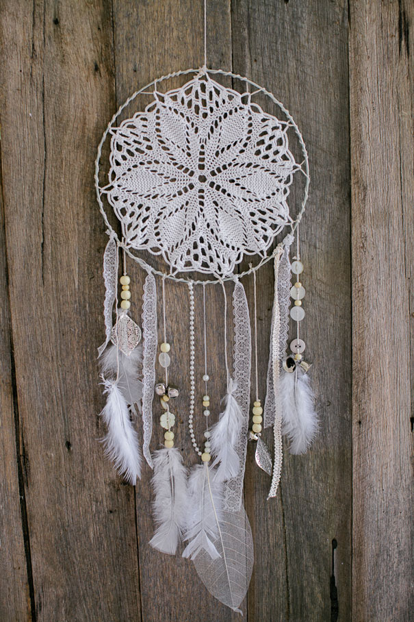 Bridal Dreamcatcher | Unique Bohemian Gypsy Dreamcatchers Ideas Perfect For Homemade Gifts