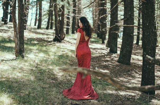 inspiration-wedding-Enchante-Bridal-Boutique-red-sequin-bridal-gown-blue218