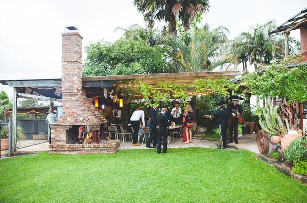 mexican-fiesta-wedding-collette-dinnigan-red-bridal-gown24