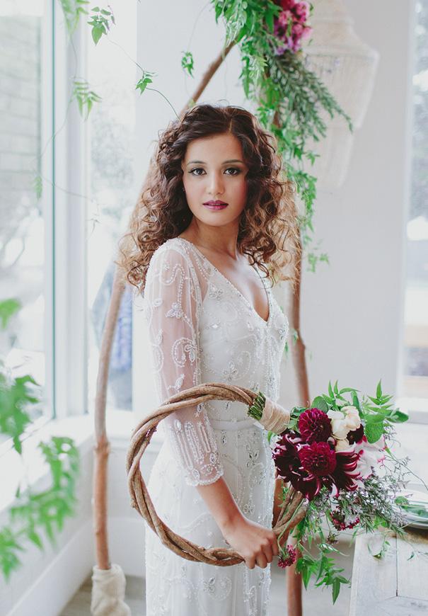 jenny-packham-berry-blush-pink-purple-wedding-inspiration-hair-makeup-bridal-flowers3