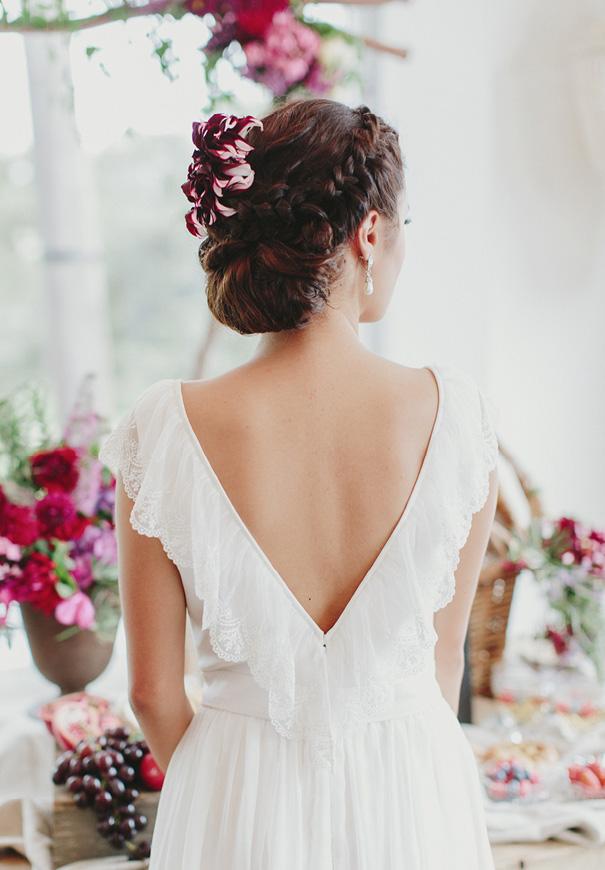 jenny-packham-berry-blush-pink-purple-wedding-inspiration-hair-makeup-bridal-flowers9