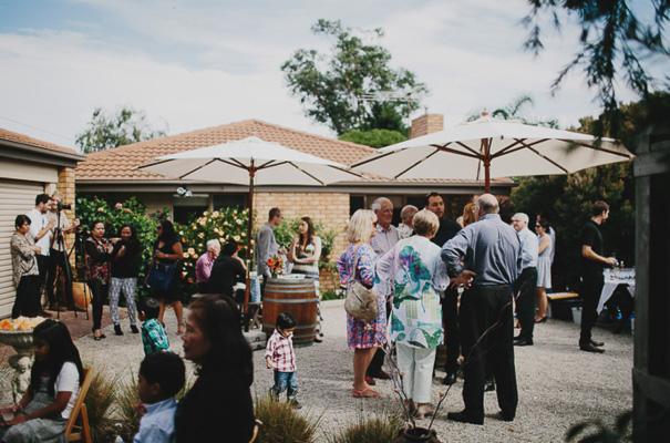 surprise-wedding-backyard-reception-blush-dress14