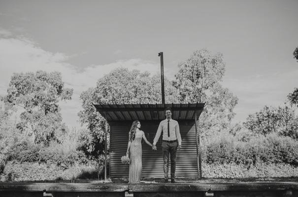 surprise-wedding-backyard-reception-blush-dress29