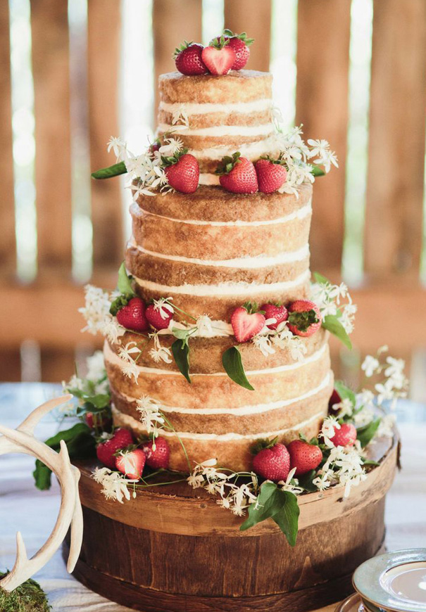 naked-wedding-cake-reception-flowers-inspiraton-donut-cake27