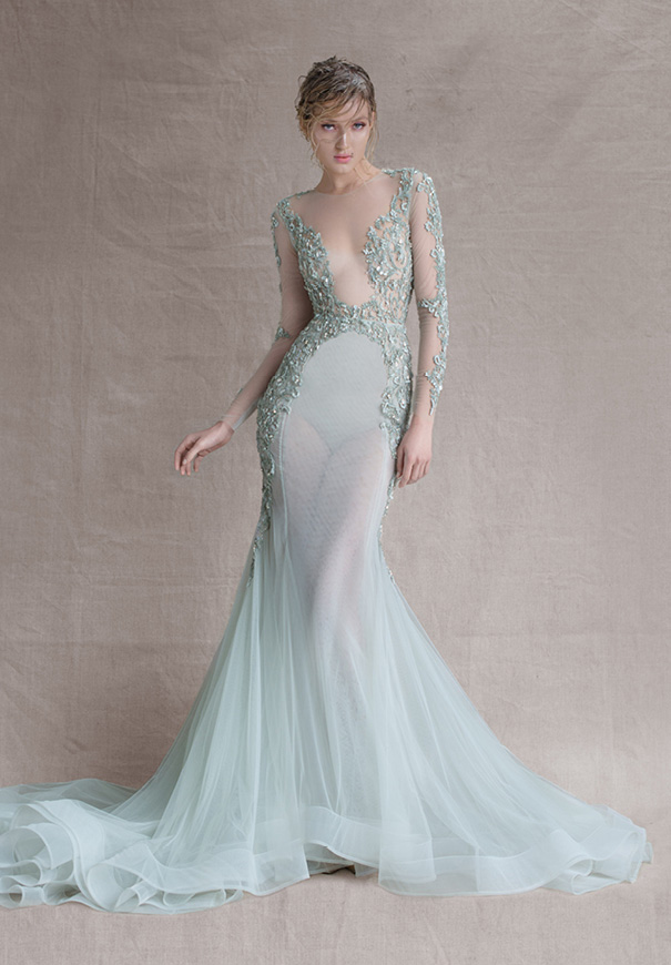 Paolo-Sebastian-SS15-bridal-gown-wedding-dress-dusty-sky-blue