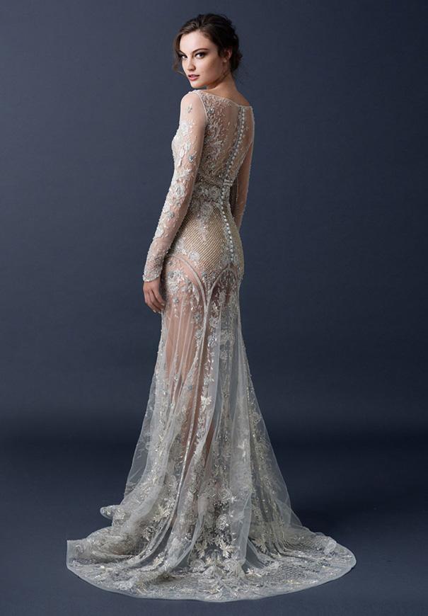 paolo-sebasion-AW15-the-sleeping-garden-blush-gold-bronze-bridal-gown-wedding-dress-violet-purple14