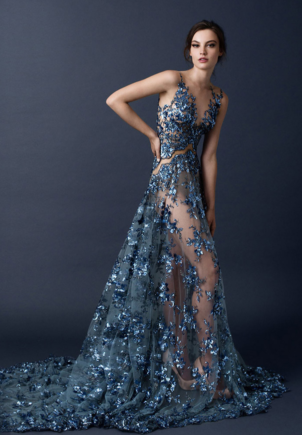 paolo-sebasion-AW15-the-sleeping-garden-blush-gold-bronze-bridal-gown-wedding-dress-violet-purple8
