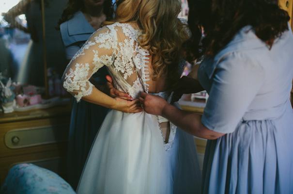 vintage-retro-inspired-short-lace-full-skirt-bride-wedding-dress14
