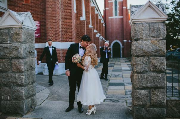 vintage-retro-inspired-short-lace-full-skirt-bride-wedding-dress22