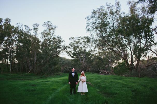 vintage-retro-inspired-short-lace-full-skirt-bride-wedding-dress27