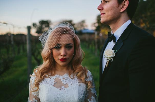 vintage-retro-inspired-short-lace-full-skirt-bride-wedding-dress30