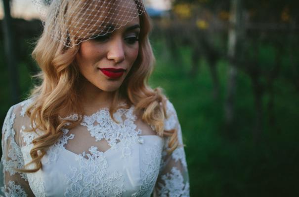 vintage-retro-inspired-short-lace-full-skirt-bride-wedding-dress31
