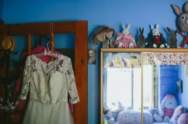 vintage-retro-inspired-short-lace-full-skirt-bride-wedding-dress6