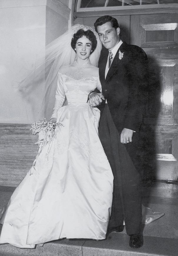 elizabeth-taylor-wedding-conrad-nicky-hilton-vintage-bridal-gown