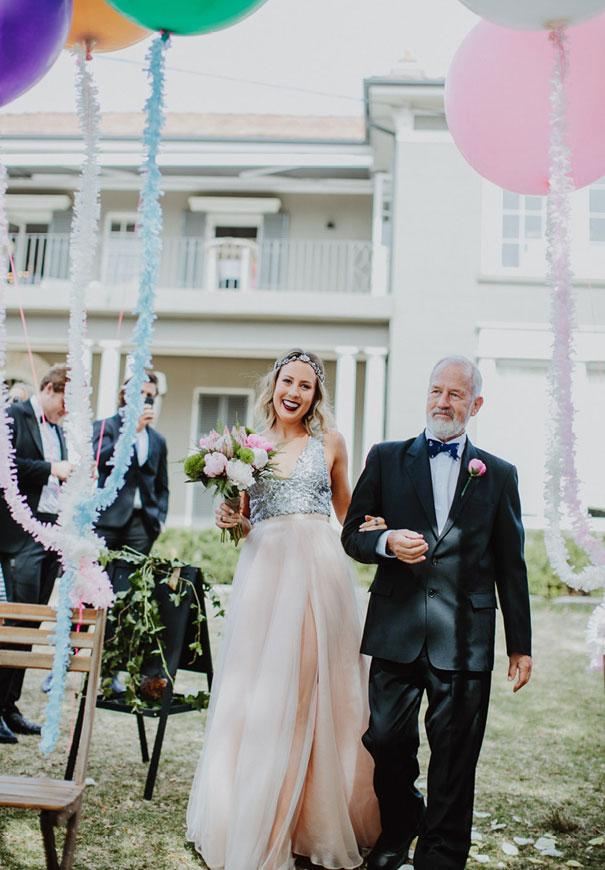 NSW-tattooed-bride-silver-pink-bridal-gown-wedding-dress27