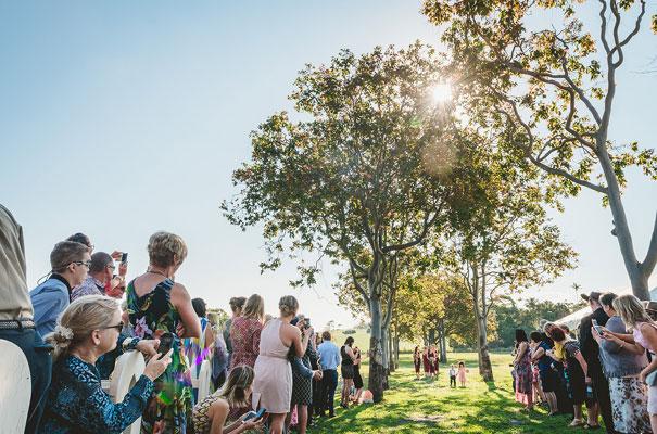 country-bush-australian-backyard-diy-wedding-sequin-silver-bridal-gown31