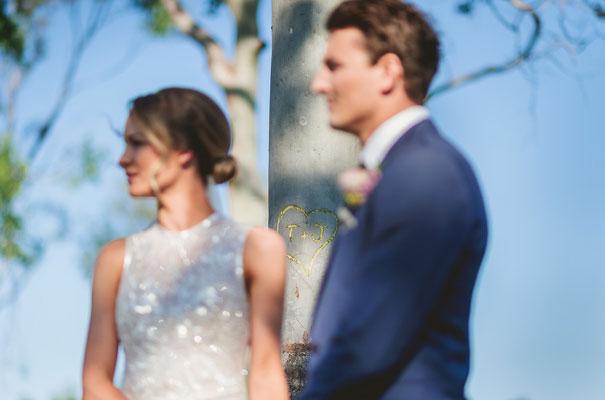country-bush-australian-backyard-diy-wedding-sequin-silver-bridal-gown33