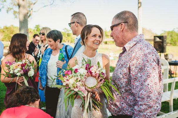 country-bush-australian-backyard-diy-wedding-sequin-silver-bridal-gown39