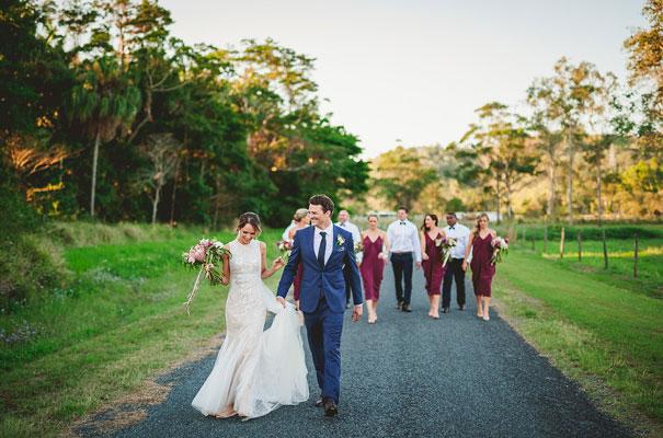 country-bush-australian-backyard-diy-wedding-sequin-silver-bridal-gown43