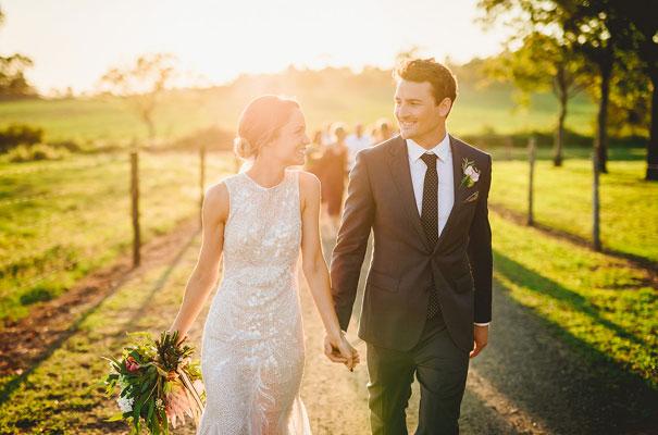 country-bush-australian-backyard-diy-wedding-sequin-silver-bridal-gown44