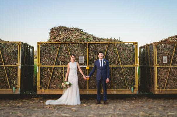 country-bush-australian-backyard-diy-wedding-sequin-silver-bridal-gown45