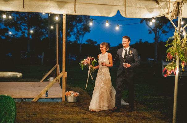 country-bush-australian-backyard-diy-wedding-sequin-silver-bridal-gown51