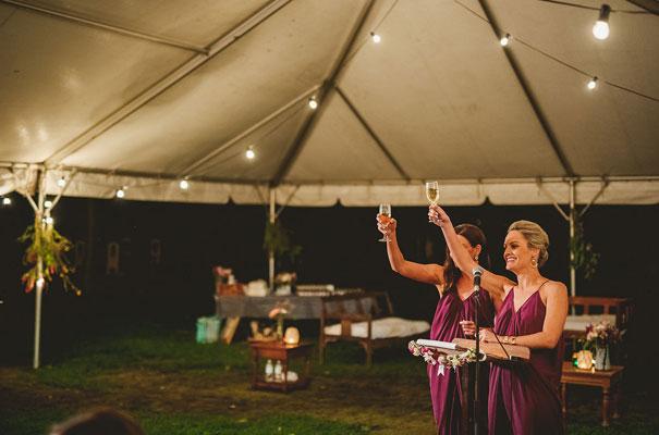 country-bush-australian-backyard-diy-wedding-sequin-silver-bridal-gown55