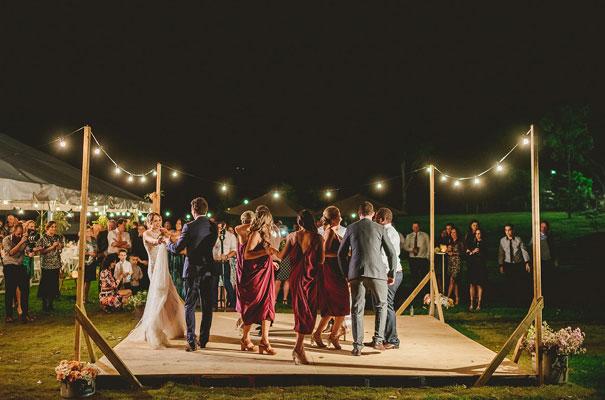 country-bush-australian-backyard-diy-wedding-sequin-silver-bridal-gown57