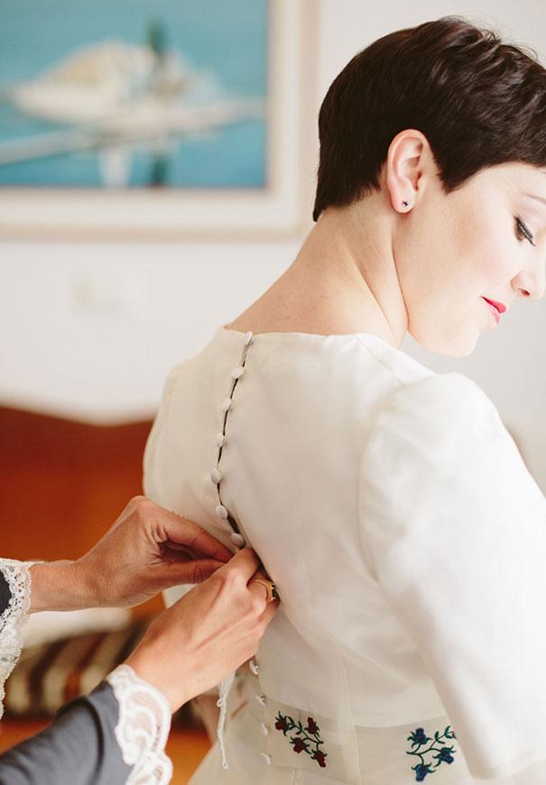best-greek-wedding-pixie-cut-bride92