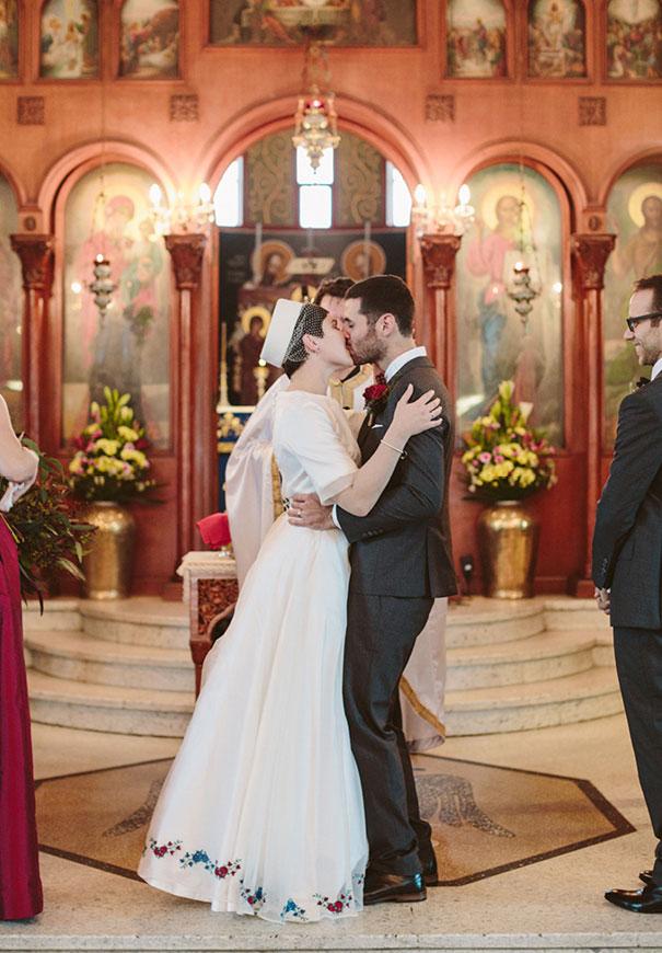 best-greek-wedding-pixie-cut-bride93