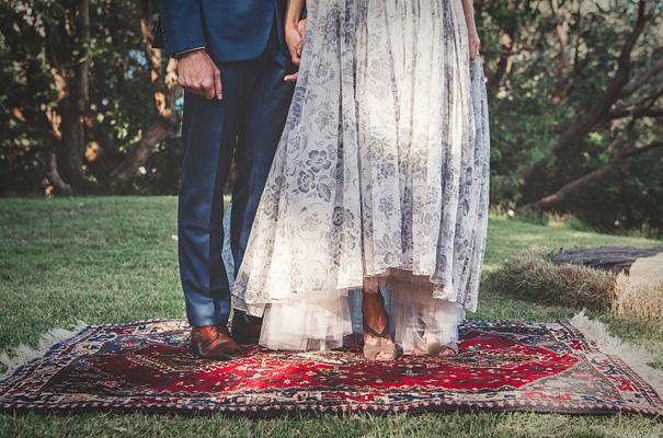 best-vintage-bridal-gown-blue-wedding-dress-backyard-inspiration5